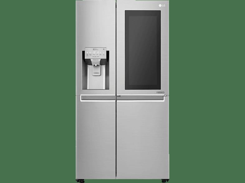 GSX 961 NEAZ InstaView Side By Side Kühlschrank von LG | MediaMarkt