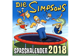 Simpsons Wandkalender 2018