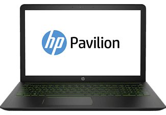HP Pavilion Power, Gaming Notebook mit 15.6 Zoll Display, Core™ i5 Prozessor, 8 GB RAM, 1 TB HDD, 128 GB SSD, GeForce® GTX 1050, Schwarz/Grün