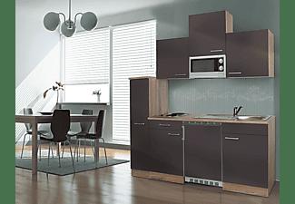 Respekta Miniküche Mit Kühlschrank Pantry 100 : Respekta kb180esgmi grau küchenzeilen & küchenmodule mediamarkt