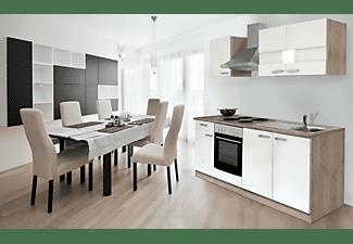 RESPEKTA KB210ESW Weiss Küchenzeilen & Küchenmodule - MediaMarkt