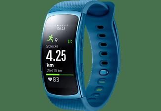 SAMSUNG  Gear Fit 2 Smartwatch Kunststoff, S, Blau