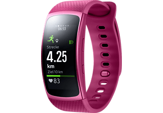 SAMSUNG  Gear Fit 2 Smartwatch Kunststoff, L, Pink