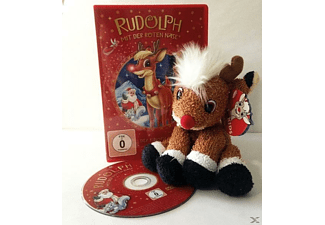 Rudolph mit der roten Nase - Adventskalender plus CD - (DVD)