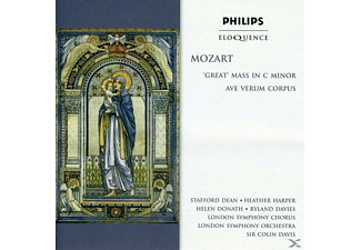 Helen Donath, Heather Harper, Ryland  Davies, Stafford  Dean, London Symphony Orchestra, London Symphony Chorus - Great' Mass in c minor/ Ave Verum Corpus - (CD)