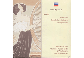 Beaux Arts Trio, Chamber Music Society Of Amsterdam, Carmirelli Quartet - Chamber Music - (CD)