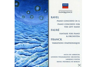 VARIOUS - Piano Concertos / Fantasie For Piano & Orchestra - (CD)
