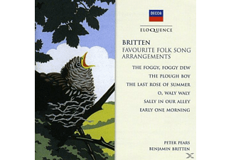 Edward Benjamin Britten, Peter Pears - Folk Song Arrangements - (CD)