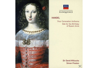 VARIOUS - Four Coronation Anthems Ode For The Birthday Of Queen Anne - (CD)