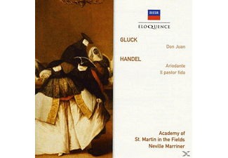 Academy of St. Martin in the Fields, Marriner Neville - Don Juan / Ariodante / Ballet Music - (CD)