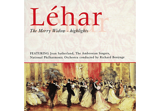 Joan Sutherland, The Ambrosian Singers, The National Philharmonic Orchestra - The Merry Widow (Highlights) - (CD)