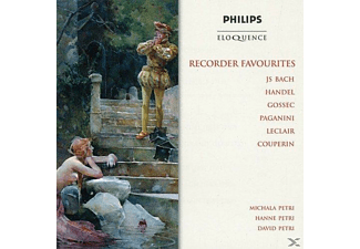 Michala Petri, Hanna Petri, David Petri - Recorder Favourites - (CD)