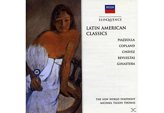 The New World Symphony, Michael Tilson Thomas - Latin American Classics - (CD)