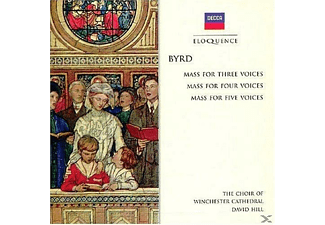 David Hill, Choir Of Winchester Cathedral - Masses-For 3 Voices /4 Voices/5 Voices - (CD)
