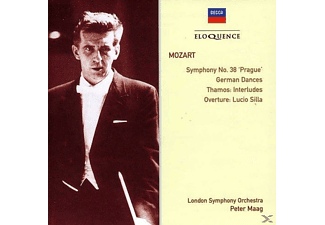 London Symphony Orchestra, Peter Maag - Symphony No. 38 'Prague' / German Dances - (CD)