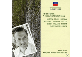 Viola Tunnard, Edward Benjamin Britten, Peter Pears - Peter Pears - A Treasury Of English Song - (CD)