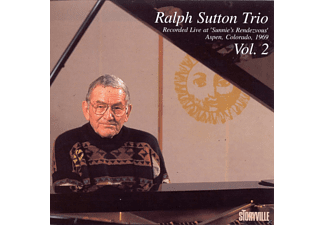 Ralph Sutton Trio - At Sunnie's Vol.2 - (CD)