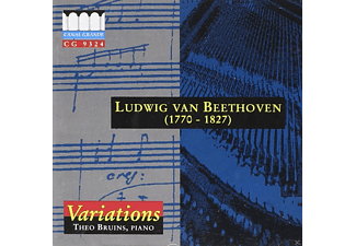 Theo Bruins - Beethoven: Variations - (CD)