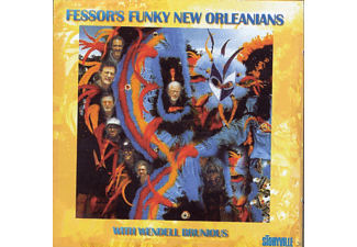 Fessor's Funky New Orleanians - Decatur Street Stomp - (CD)