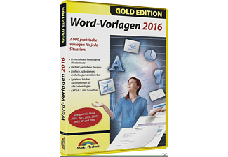 Word Vorlagen 2016 - Gold Edition