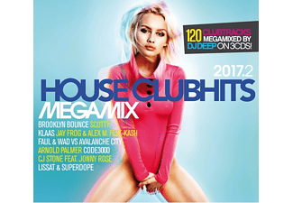 VARIOUS - House Clubhits Megamix 2017.2 - (CD)