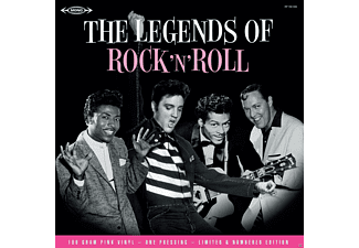 VARIOUS - Legends Of Rock'n'Roll - (Vinyl)