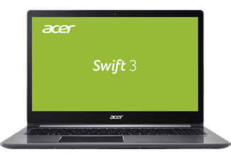 ACER Swift 3 (F315-51G-70UU), Notebook mit 15.6 Zoll Display, Core™ i7 Prozessor, 8 GB RAM, 256 GB SSD, 1 TB HDD, NVIDIA® GeForce® MX150, Iron Grey