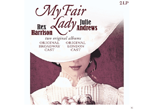 Julie Andrews & Rex Harrison - MY FAIR LADY - (Vinyl)