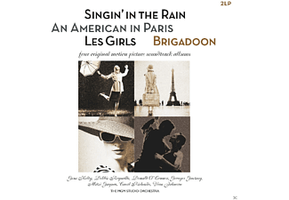 O.S.T. - SINGIN IN THE RAIN/AMERICAN IN PARIS/GIRLS/BRIGAD - (Vinyl)