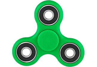 CONNECTECH Fidget Spinner Plast - Grön