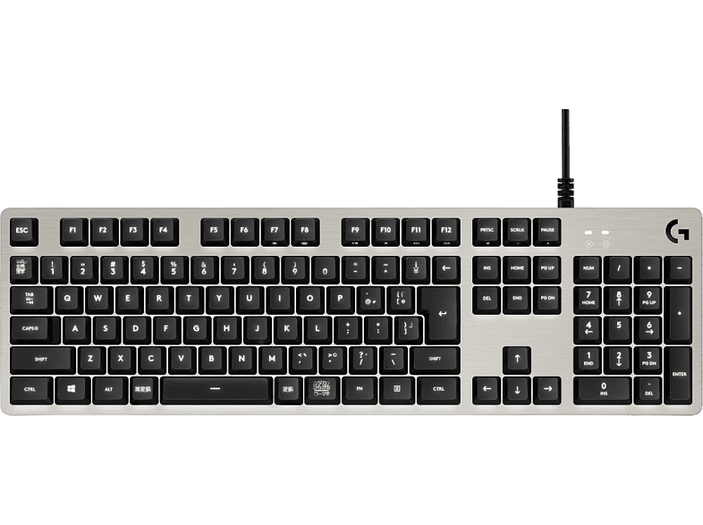 LOGITECH G413 Mechanical Gaming Keyboard Silver laptop  tablet  computing  αξεσουάρ gaming gaming πληκτρολόγια gaming απογείωσε