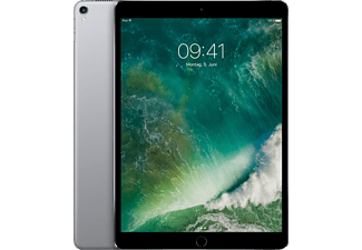 APPLE MPGH2FD/A iPad Pro Wi-Fi, Tablet mit 10.5 Zoll, 512 GB Speicher, iOS 10, Space Grey