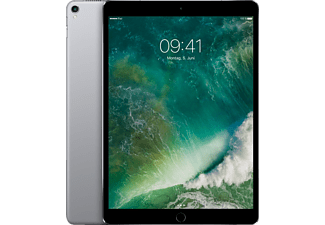 APPLE MPME2FD/A iPad Pro Wi-Fi + Cellular, Tablet mit 10.5 Zoll, 512 GB Speicher, LTE, iOS 10, Space Grey