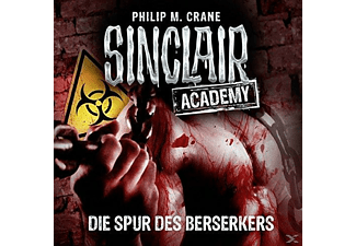 Sinclair Academy-Folge 09 - Die Spur des Berserkers - 2 CD - Science Fiction/Fantasy
