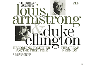 Louis Armstrong, Duke Ellington - Recording Together For The First Time - (Vinyl)