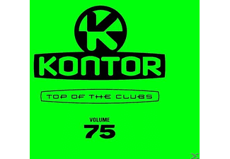VARIOUS - Kontor Top Of The Clubs Vol.75 - (CD)