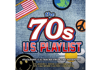 VARIOUS - 70's US Playlist - (CD)