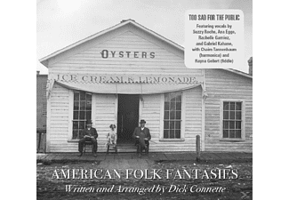Too Sad For The Public - American Folk Fantasies - (CD)