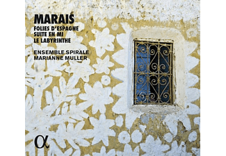 Ensamble Spirale, Marianne Muller - Les Folies d'Espagne/Suite in e-Minor/Le Labyrinth - (CD)