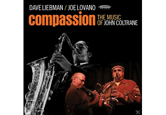 Dave & Joe Lovan Liebman - Compassion-Music Of John Coltrane - (CD)