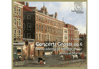 Manze/Academy Of Ancient Music - Concerti Crossi op.6 - (CD)