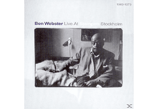 Ben Webster - Live At Stampen, Stockholm 1969-73 - (CD)