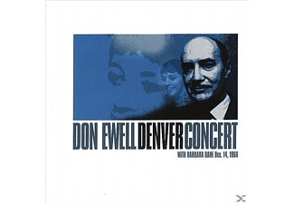 Don Ewell, Barbara Dane - Don Ewell Denver Concert With Barbara Dane - (CD)