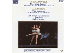 Csr Symphony Orchestra - Tchaikovsky: Sleeping Beauty, Glazunov:Seasons - (CD)