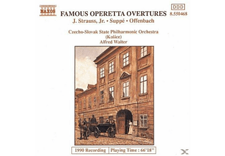 Alfred Walter - Famous Operetta Overtures - (CD)