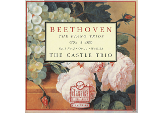 The Castle Trio - The Piano Trios, Vol. 3 (Op. 1 No. 2 / Op. 11 / WoO. 38) - (CD)
