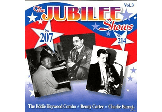 Benny Carter, Eddie Heywood Combo/Carter,Benny/Barnet,Char - The Jubilee Shows 207 & 214 - (CD)