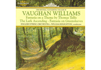 William Boughton English String Orchestra - Vaughan Williams Orchestral Works - (CD)