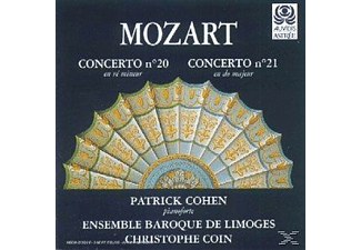 Christophe Coin, Ensemble Baroque De Limoges, Cohen Patrick, VARIOUS - Mozart: Concertos Pour Piano Nos. 20 & 21 - (CD)