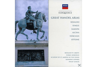 GREEVY/ROBINSON/ACADOFSTMARTININTHE - Great Handel Arias - (CD)